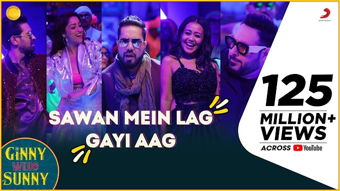 Sawan Mein Lag Gayi Aag Lyrics from Ginny Weds Sunny is brand new Hindi song