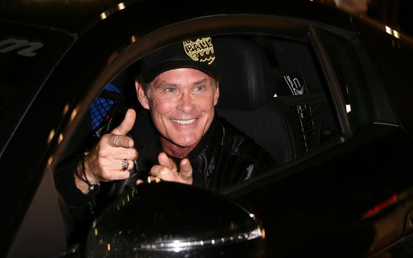 David Hasselhoff Actor David Hasselfoff arrives at the Gumball 3000 10th Anniversary Party on August 9, 2008 in Hollywood, California.