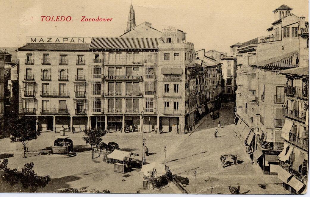 Zocodover a inicios del siglo XX