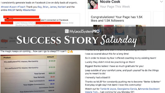 "[Success Story Saturday] ""He's Already Generated 80+ Lead In Just Over 24 Hours."" • My Lead System PRO - MyLeadSystemPRO"