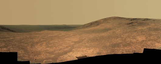 Mars Rover Panorama Shows Sweeping 'Marathon Valley' (Photo)