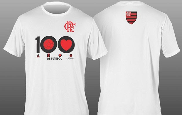 Camisa 100 anos de futebol do Flamengo (Foto: Divulgação)