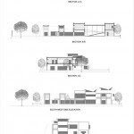 Sections & Elevations : Image courtesy Hiren Patel Architects