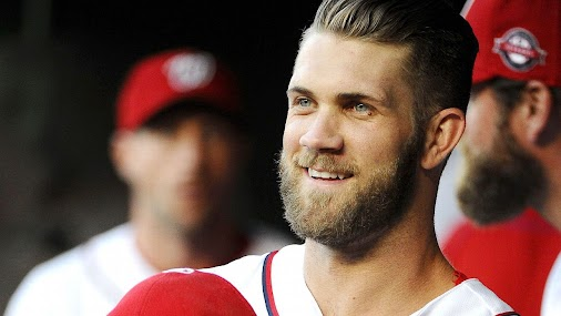 Washington Nationals outfielder Bryce Harper addressed reporters for the first time this spring training...