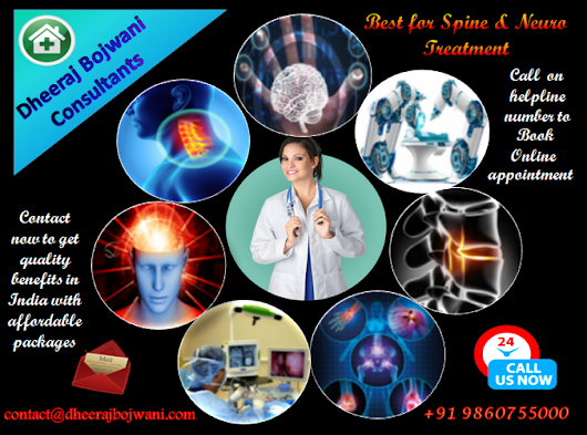Dheeraj Bojwani Consultant - Best for Spine & Neuro Treatment in India | Visual.ly