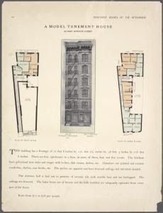 A model tenement house. 310 Ea... Digital ID: 465716. New York Public Library