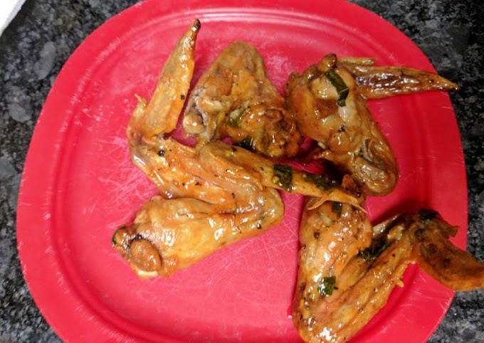 Recipe of Favorite Basil, Garlic, Butter Wings