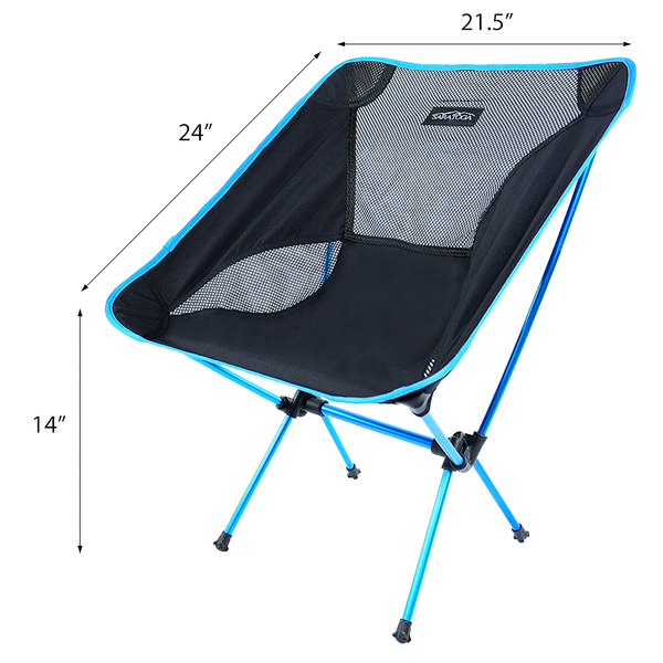 Saratoga Ultralight Portable Folding Camping Backpacking Chairs With C Das Outfitters