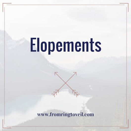 124 - Elopements | From Ring to Veil Wedding Planning Podcast