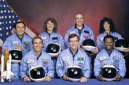 The crew of mission STS-51L.