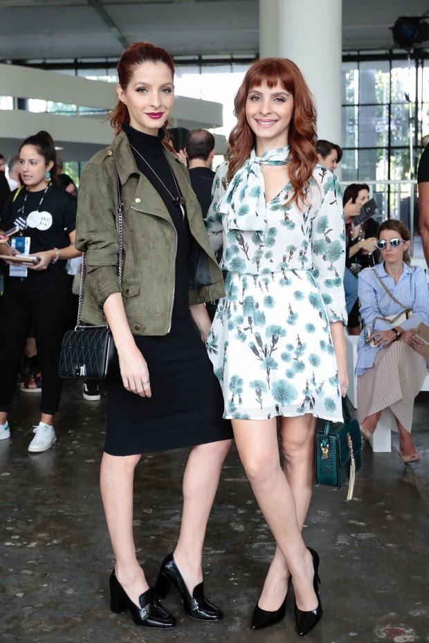 Michelle e Giselle Batista (Foto: Celso Tavares / EGO)