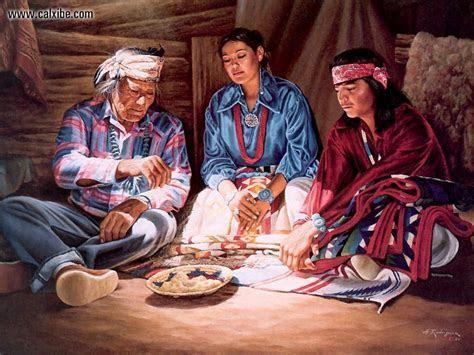Drawing & Painting: Native American Navajo Wedding