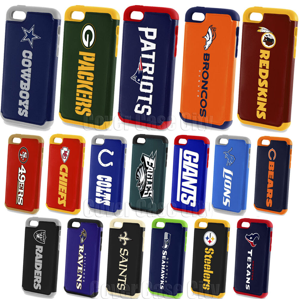 Official NFL Impact Defender Phone Case for Apple iPhone 5c Protective Fan Cover  eBay