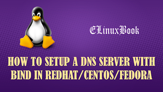 HOW TO SETUP MASTER/PRIMARY DNS SERVER WITH BIND IN REDHAT/CENTOS/FEDORA