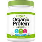 Orgain Organic Plant Based Protein Powder, Vanilla Bean - 1.02 lb jar