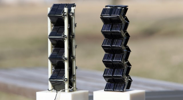 3D solar power cells from MIT