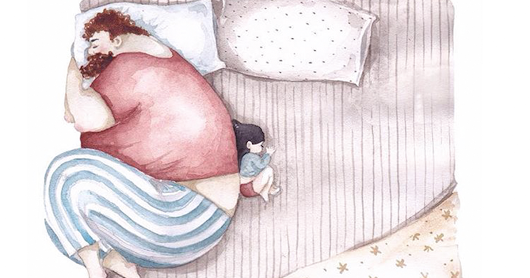 Heartwarming Illustrations About The Love Between Dads And Their Little Girls
