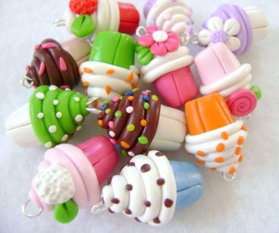 Cupcake Charm- Custom Party Favor
