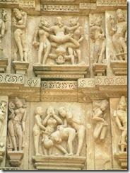 kamasutra scene, khajuraho