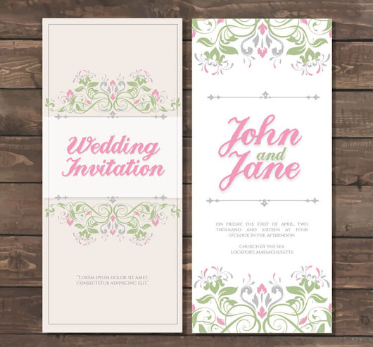 Printable Wedding Invitations For Your Big Day – AmoyShare