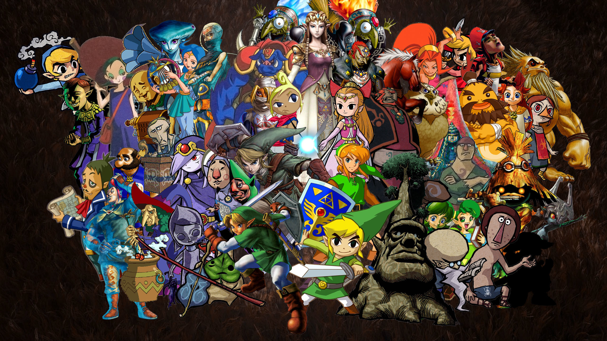 Legend Of Zelda Backgrounds 74 Images