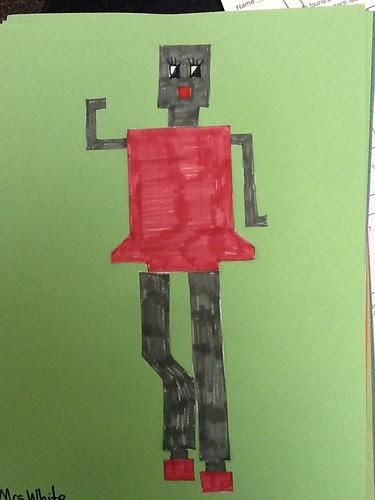 Perimeter & Area Robot