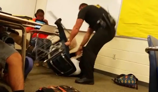 Sheriff's Deputy Fired After Flipping, Dragging High School Student