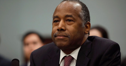Ben Carson Blames His Wife For $31,000 Dining Set Purchase For HUD Office