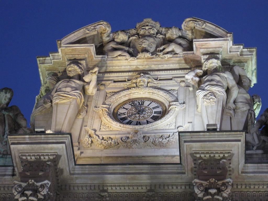 The old Lyon stock exchange