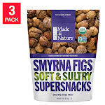 Made In Nature Organic Calimyrna Figs 40 oz, 3-pack