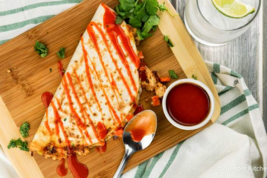 Buffalo Chicken Quesadillas - Personalized Nutrition Concepts