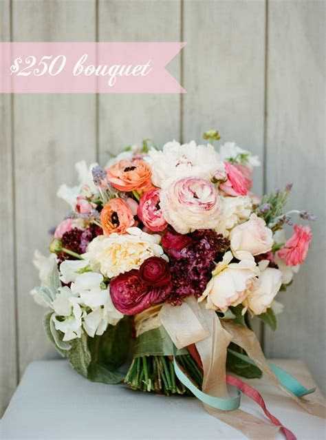 How much does a wedding bouquet cost? Snippet & Ink