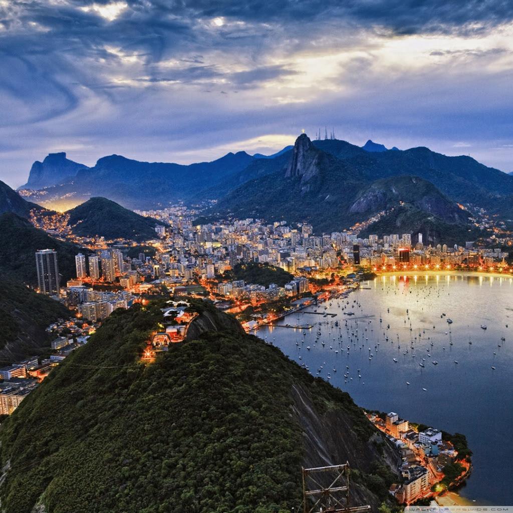 Amazing Rio De Janeiro Ultra Hd Desktop Background Wallpaper For