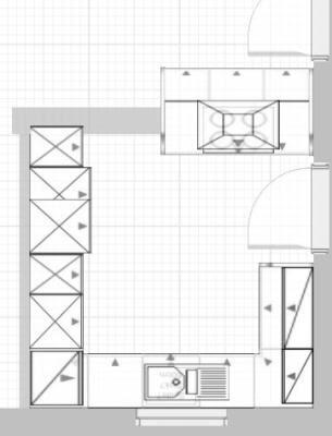 Insel in 3.10m breiter Küche? - Abstand von 80 bzw. 70 cm ...