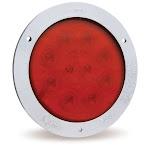 """Grote 53302 STT Lamp, 4"""",Red,W/ Stls Steel Theft Resistant Flange,Supernova Led"""