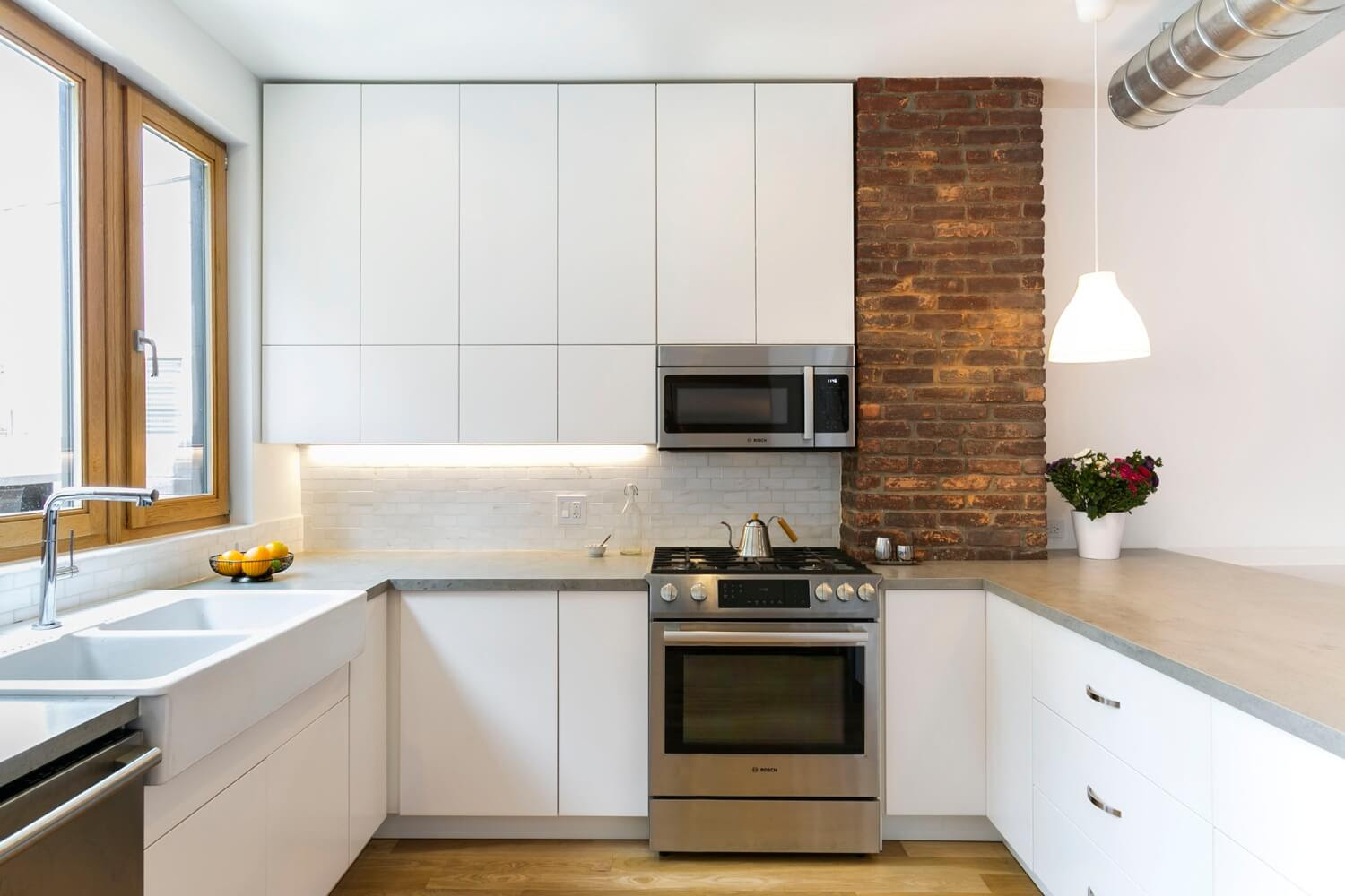 Interior Design Ideas Sunset Park Row House Goes Modern Brownstoner