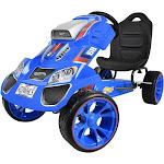 Hot Wheels XL Pedal Go Kart Ride on - Blue