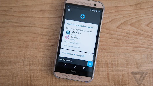 Microsoft's Cortana assistant can now replace Google Now on Android