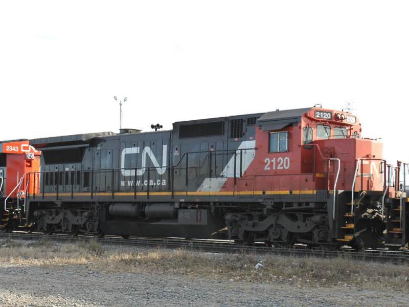 CN 2120 in Calgary Alberta