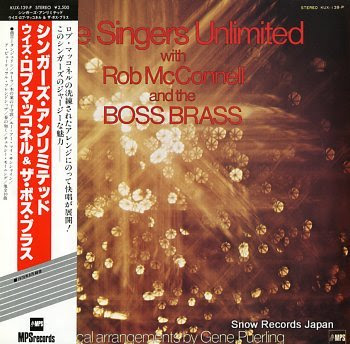 SINGERS UNLIMITED with rob mcconnell and the boss brass