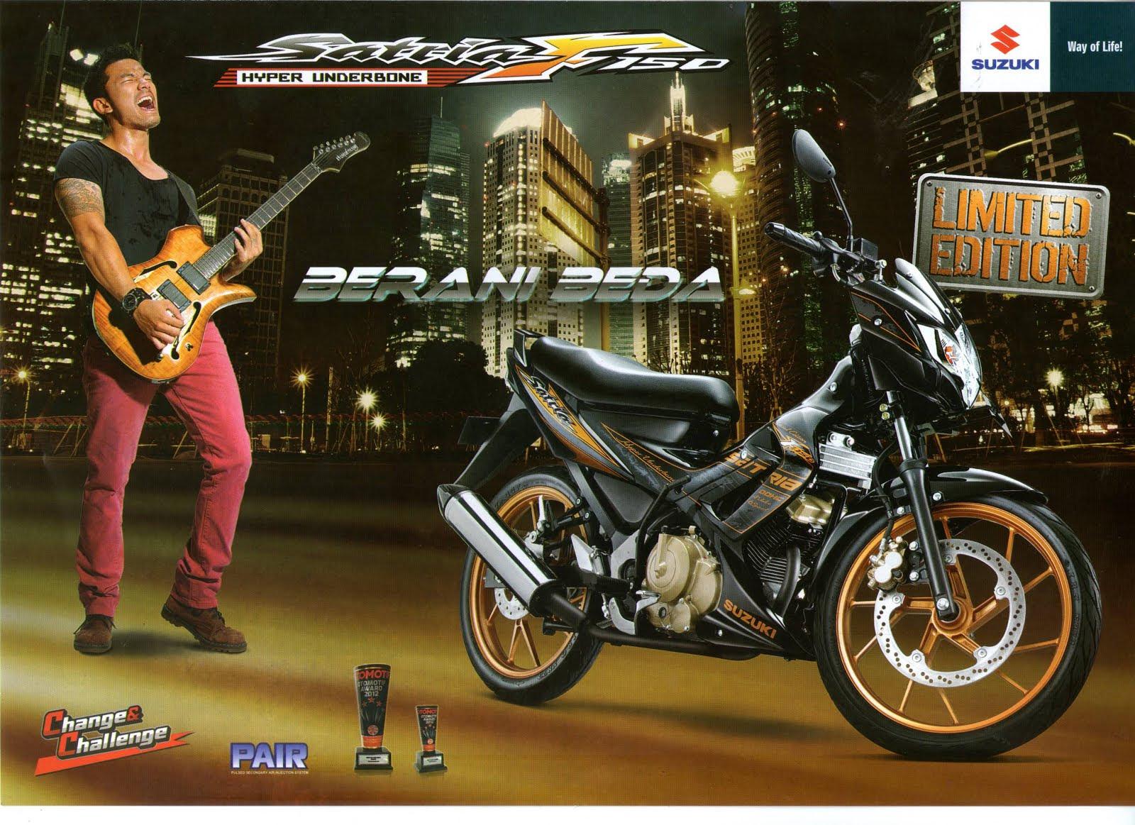 Deler Resmi Sepeda Motor Suzuki Millenium Bekasi