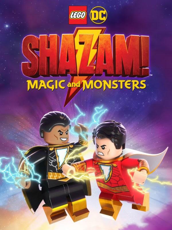 Lego DC Shazam Magic And Monsters 2020 - MOVIE