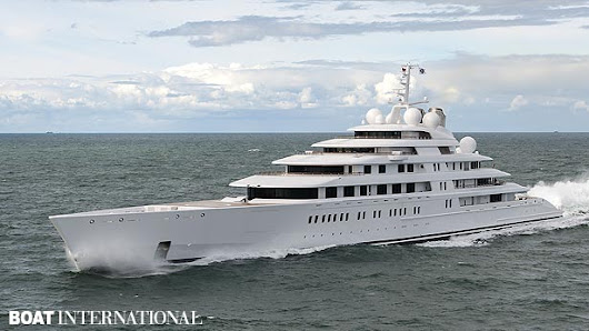10 Largest Super Yachts In The World - The1stClassLifestyle.com