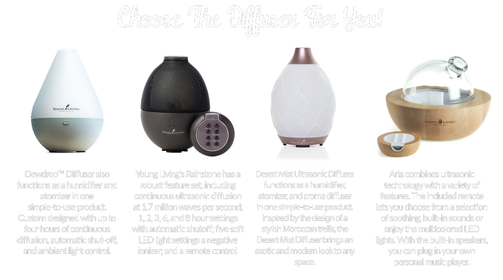 Young Living Essential Oil Home Ultrasonic Desert Mist Diffuser 5330