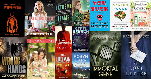 Your 6 FREE & 9 bargain books for July 17th