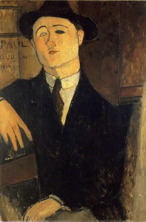 Paul Guillaume sentado