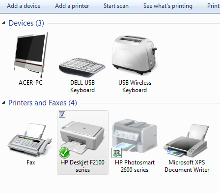 Why does Windows think that my wireless keyboard is a toaster?