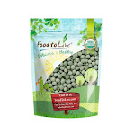 Organic Whole Dried Green Peas, 1 Pound - by Food to Live