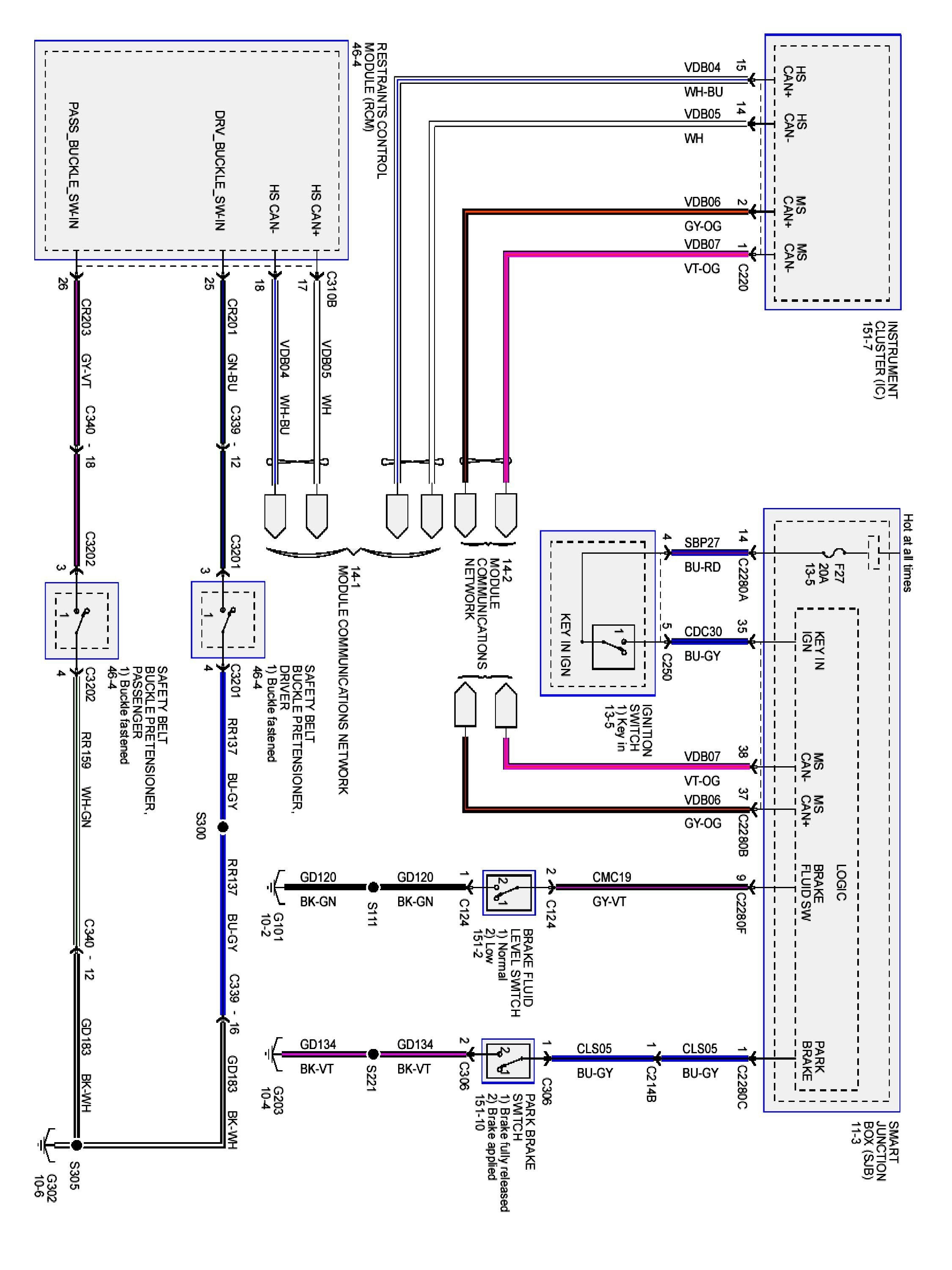 2005 Ford F 150 Trailer Light Wiring Diagram