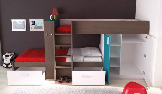 Dormitorio Muebles Modernos Camas Juveniles Conforama